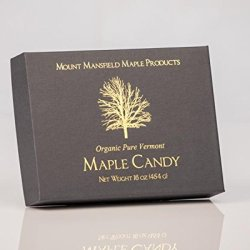 Mansfield Maple- 1 LB Pure Vermont Maple Sugar Candy