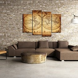 Sea Charm - Canvas Wall Art Panels Vintage