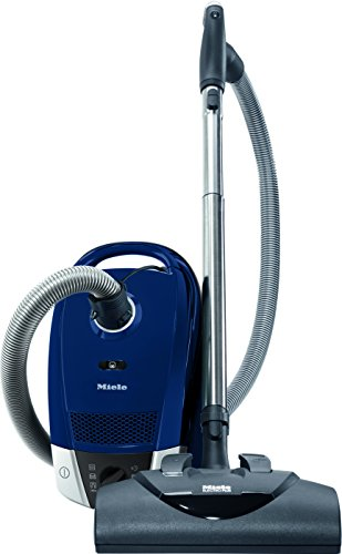 Miele Electro+ Canister Vacuum, Marine Blue