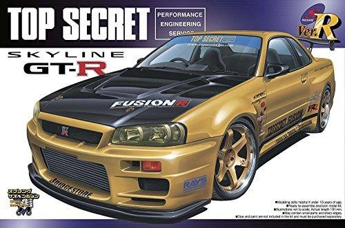 #86 Top Secret Fusion Skyline '99 1/24 w/ Volk wheels