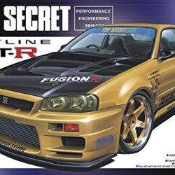 #86 Top Secret Fusion Skyline '99 1/24 w/ Volk wheels
