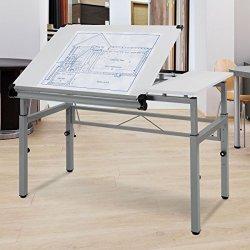 Tangkula Adjustable Drafting Table