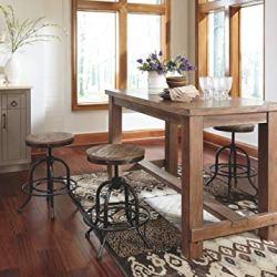 Ashley Furniture Signature Design - Pinnadel Swivel Bar Stool