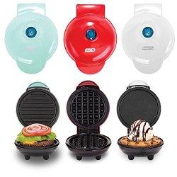 Dash Mini Maker Griddle, Waffle Maker and Grill Set