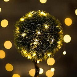 Otimo 10 Meters 100 LED Outdoor Solar Fairy String Lights