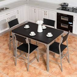 Tangkula Dining Table Set Modern Kitchen Dining Room