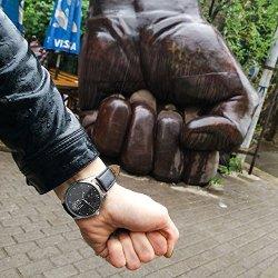 ZIZ Ukraine Black Watch Unisex Wrist Watch