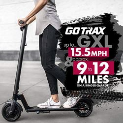 "GOTRAX GXL Commuting Electric Scooter - 8.5"" Air Filled Tires"