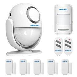 BIBENE 2.4Ghz WiFi Home Security Door Alarm