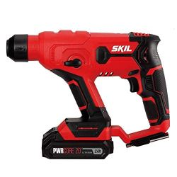 SKIL 20V SDS-Plus Rotary Hammer, Includes 2.0Ah