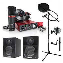 Focusrite Scarlett Solo Studio (2nd Gen) USB Audio Interface