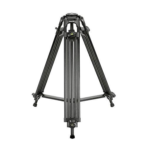 Professional Tandem Leg Tripod with 75mm Bowl Mount & Adapter by ProAm USA