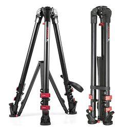 Video Tripod Max Load 88 lbs Professional Heavy Duty Aluminum Camera Tripod