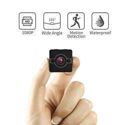 Mini Spy Camera Hidden Cam, Waterproof