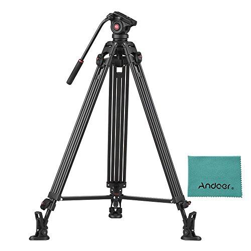 Viltrox VX-18M Professional Heavy Duty Video Tripod Camera Camcorder Tripod