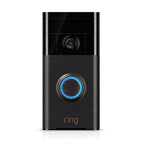 Ring Wi-Fi Enabled Video Doorbell in Venetian Bronze