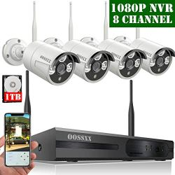 【2019 Update】 HD 1080P 8-Channel Wireless Security