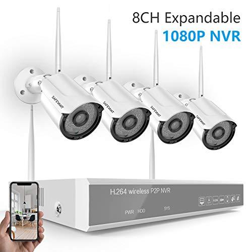 Safevant 8CH 1080P NVR Security Camera System