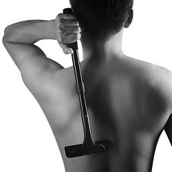 DIY Back Hair Shaver & Body Shaver with Adjustable Long Handle