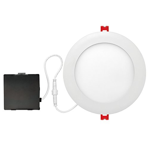 "Globe Electric 6""LED Integrated Ultra Slim Recessed Lighting Kit"