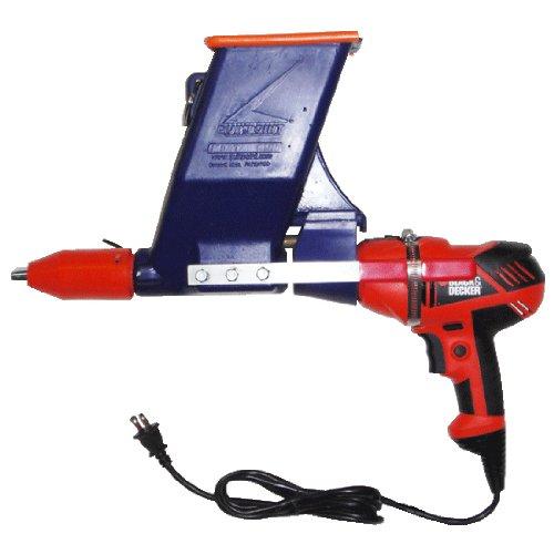 "Quikpoint Mortar Gun w/ Black & Decker 3/8"" Drill"