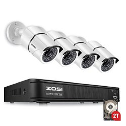 ZOSI 1080p Security Camera System for Home