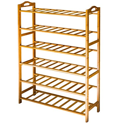ANKO Bamboo Shoe Rack
