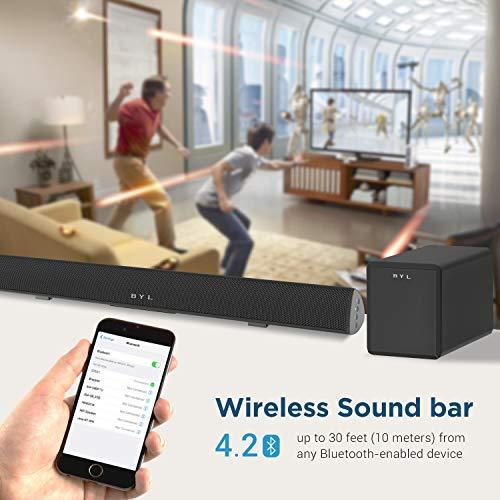 120Watt Sound bar, BYL 2.1 Channel SoundBar Subwoofer
