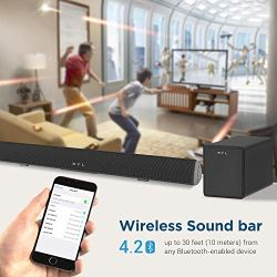 120Watt Sound bar, BYL 2.1 Channel SoundBar Subwoofer