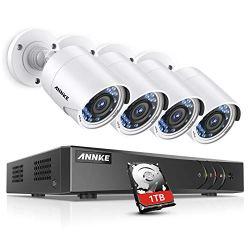 ANNKE Surveillance Camera System, 1080P 8CH DVR