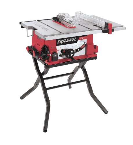 SKIL 10-Inch Table Saw with Folding Stand