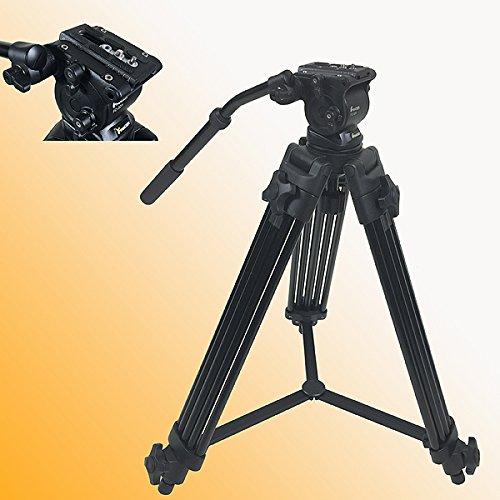 Fancierstudio Professional Heavy Duty Video Camcorder Tripod