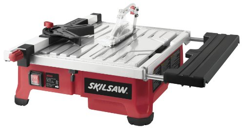 SKIL 7-Inch Wet Tile Saw with HydroLock Water Containment System