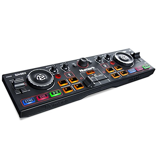 Pocket DJ Controller with Audio Interface and Serato