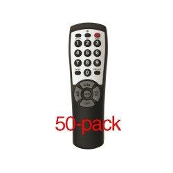 50-pack Brightstar®Universal TV Remote