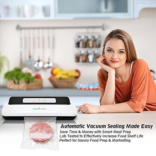Vacuum Sealer By NutriChef   Automatic Vacuum