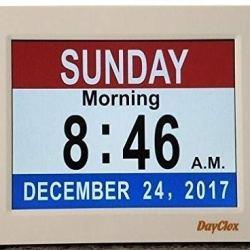 DayClox Memory Loss Digital Calendar 5-Cycle Clock