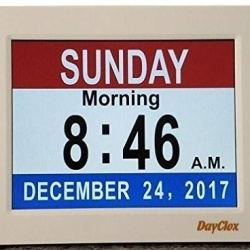 DayClox Memory Loss Digital Calendar 5-Cycle Clock