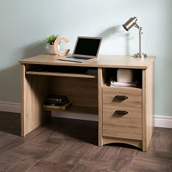 South Shore Computer Desk with 2 Drawers