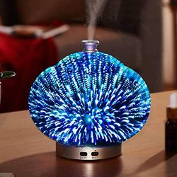 BleuMoo 3D Colorful Night Light Glass Home