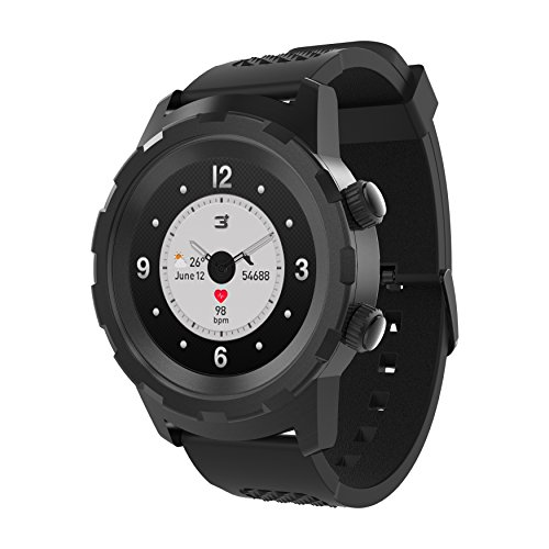 3Plus Cruz Hybrid Smart Watch with Heart Rate Monitor