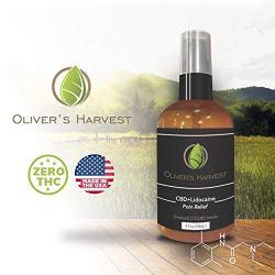 Oliver's Harvest Hemp Oil Extract with Lidocaine