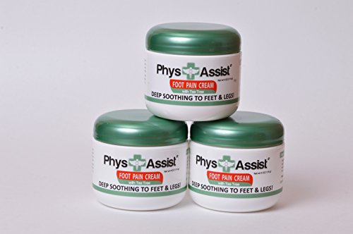 PhysAssist Foot Pain Cream - Deep Soothing Relief