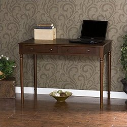 "Southern Enterprises 2 Drawer Writing Desk 42"" Wide"