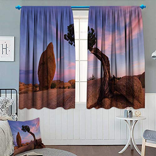 Chaneyhouse Americana Waterproof Window Curtain Bonsai
