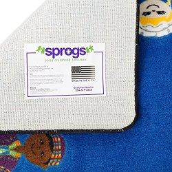 "Sprogs Kids Global Friends Rug (7' 6"" W x 12' L)"