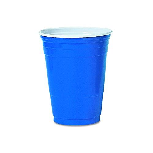SOLO Blue 16oz Party Cup (Case of 1000)