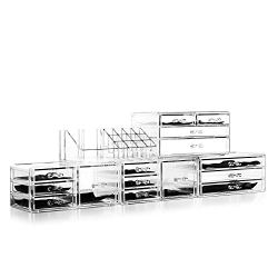 Felicite Home Acrylic Jewelry and Cosmetic Storage