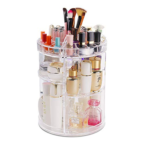 COOLBEAR Makeup Organizer,360 Degree Rotating