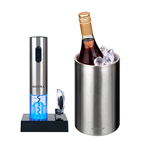 The Secura Premium Stainless Steel Electric Wine Bottle